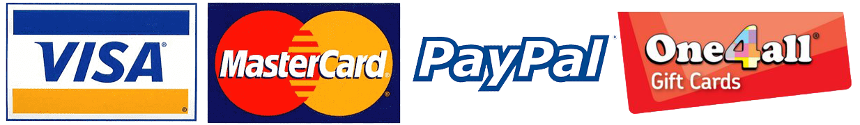 Fortune's Pharmacy payment methods Logos