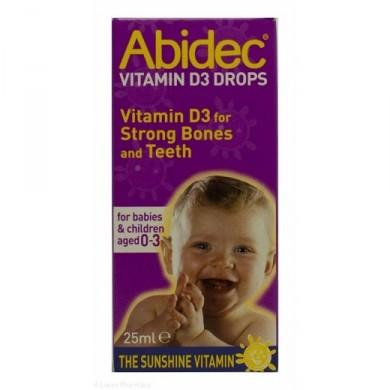 Abidec Vitamin D Drops